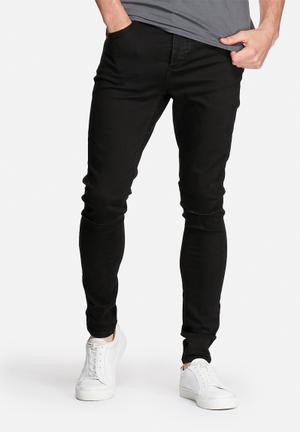 Selected Homme Owen Skinny Jeans Black