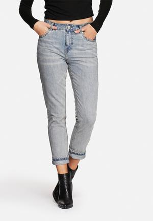 ADPT. Boyfriend Jeans Light Blue Denim