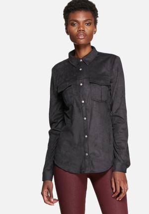 Pieces Coline Shirt Black