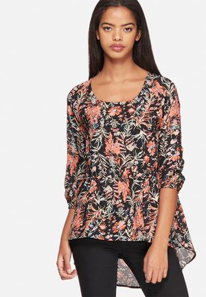 ONLY Clematis Sima Top Blouses Black