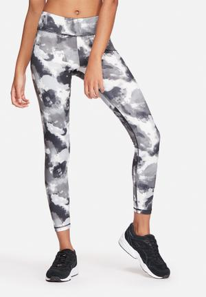 ONLY Play Suz Training Tights Bottoms Black & Grey