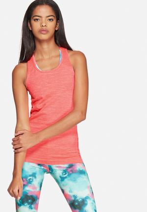 ONLY Play Jaquelyn Seamless Training Top T-Shirts Hot Pink Melange