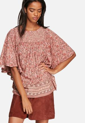 ONLY Gilberte Blouse Red