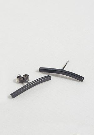 Vero Moda Dira Ear Studs Jewellery Gun Metal