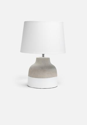 Sixth Floor Cement Oval Lamp Lighting Cement Base