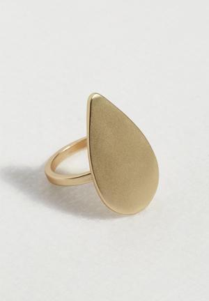 Vero Moda Nora Ring Jewellery Pale Gold