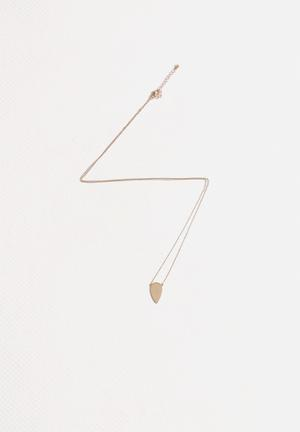 Vero Moda Nora Long Necklace Jewellery Pale Gold
