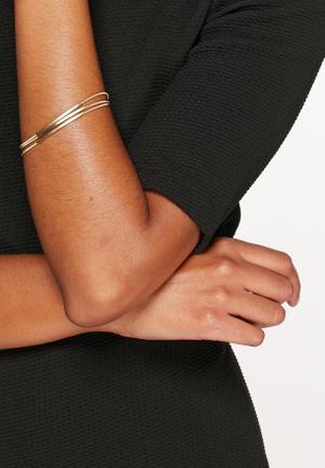 Vero Moda Dira Bracelet Jewellery Pale Gold