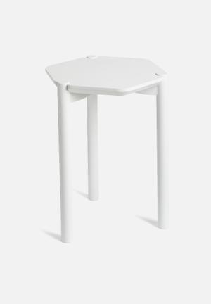 Umbra Hexa Side Table Wood