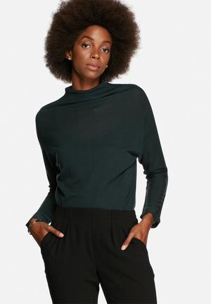 ONLY Emma Planet Top Blouses Green