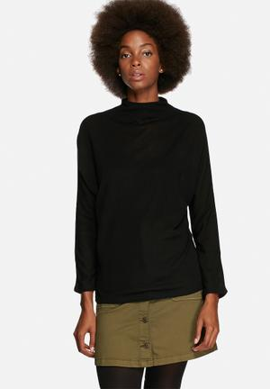 ONLY Emma Planet Top Blouses Black