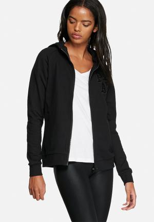 ONLY Play Abbey Zip Sweat Hoodies & Jackets 55% Cotton 45% Polyester