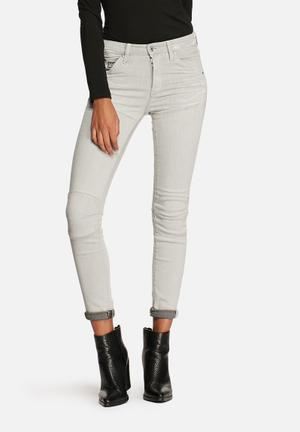 G-Star RAW 5620 Ultra High Super Skinny Jeans Painted White
