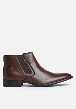 Gino Paoli Chelsea Boot Brown