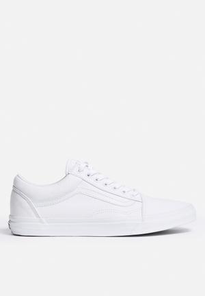 Vans Old Skool Sneakers White / White