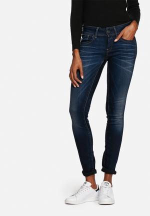 G-Star RAW Lynn Mid Skinny Jeans Blue Denim