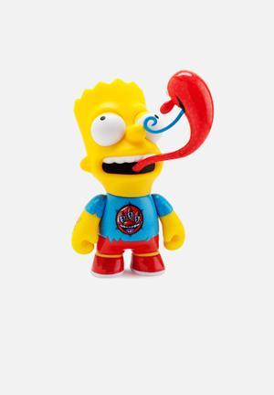 Kidrobot The Simpsons: Bart By Kenny Scharf Medium Figure Toys & LEGO Vinyl