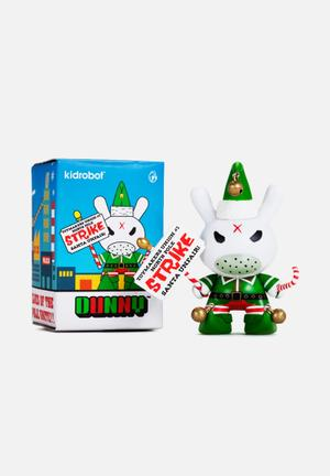 """Kidrobot Grumpy Elf 3"""" Dunny By Frank Kozik Toys & LEGO Vinyl"""