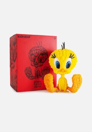 Kidrobot Looney Tunes: Tweety Medium By Mark Dean Veca Toys & LEGO Vinyl