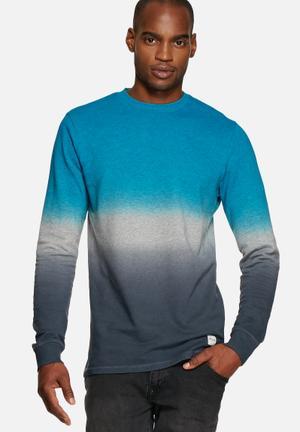 Only & Sons Parker Crew Sweat Hoodies & Sweatshirts Light Grey Melange