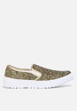 Liliana Laura Sneakers Gold Multi