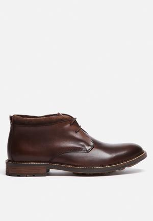 Watson Shoes Midnight Leather Boot Brown