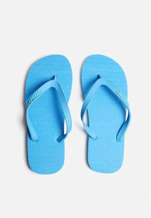 Jack & Jones Footwear & Accessories Basic Rubber 2 Sandals & Flip Flops Blue