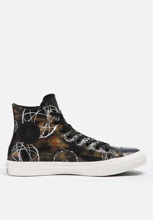 Converse Chuck Taylor All Star II HI X Futura Sneakers Black / Camo / Egret