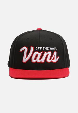 Vans Wilmington Cap Headwear Black / Red