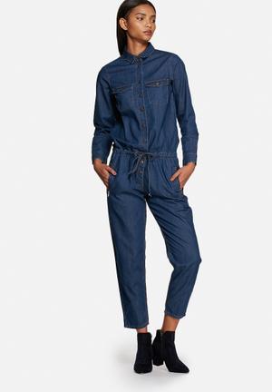 Glamorous Boilersuit Jumpsuits & Playsuits Blue