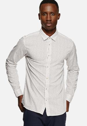 Jack & Jones Premium Danny Slim Shirt White
