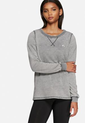 ONLY Play Fay Sweat T-Shirts Grey