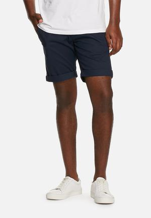 Selected Homme Paris Chino Shorts Navy