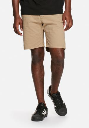 Only & Sons Dive Shorts Stone