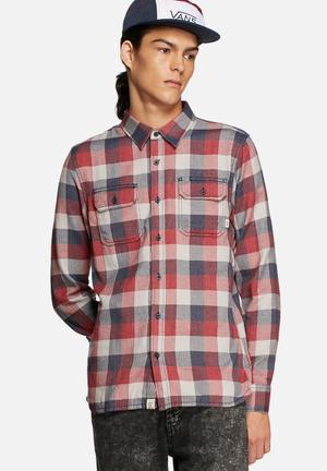 Vans Alameda Shirt Red