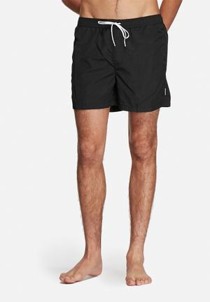 Jack & Jones Jeans Intelligence Malibu Swim Short Swimwear Black