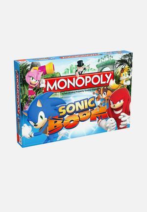 Hasbro Monopoly - Sonic Boom Games & Puzzles