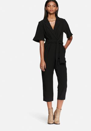 The Fifth Highlight Jumpsuit  Black