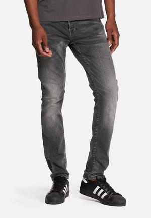 Only & Sons Loom Slim Jeans Charcoal
