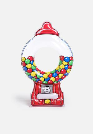 Big Mouth Giant Gumball Machine Pool Float Durable Vinyl