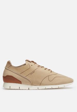 Jack & Jones Footwear & Accessories Robson Leather Sneaker  Taupe