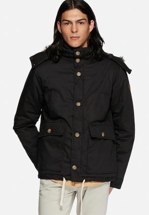 Native Youth Artic Parka Jackets Black