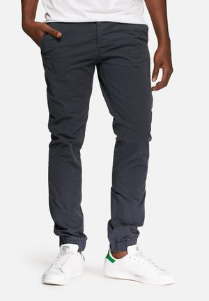 Only & Sons Tarp Cuffed Chino Navy