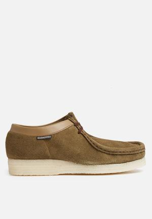 Grasshoppers Moccasin Slip-ons And Loafers Khaki