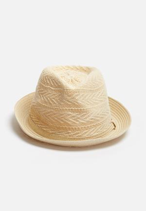 ONLY Elo Straw Hat Headwear Natural