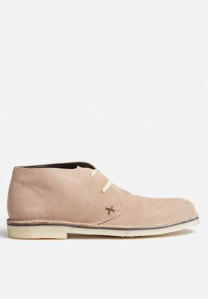 Grasshoppers Desert Boots Taupe