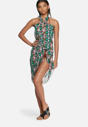 Vero Moda Babushka Scarf Swimwear Green