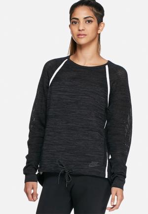 Nike Tech Knit Crew Neck T-Shirts Black