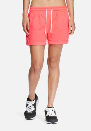 ONLY Play Viola Sweat Shorts Bottoms Pink