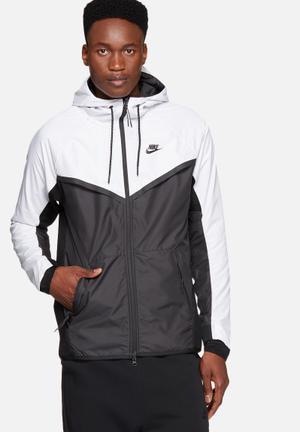 Nike Tech Windrunner Hoodies & Sweatshirts Black & White